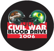 blood drive button